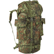 German Army Patrol Pack Hiking Rucksack Military Backpack 65L Flecktarn Camo
