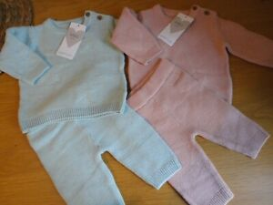 Lovely M&S Baby Girls or Boys Knitted Outfit 0 1 3 months BNWT FREEPOST