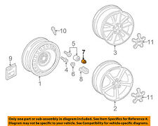 AUDI OEM 17-18 A3 Quattro Wheel-Wheel Bolt Cap 4M0601173A
