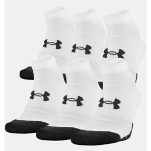 Under Armour Adult Performance Tech Low Cut Socks, 6 Pairs