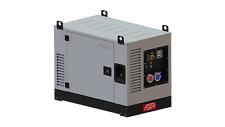 Stromaggregat, Stromerzeuger Benzin Honda FV 20000RCEA 19,5 kVA Schallschutz