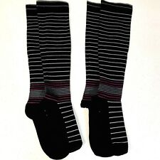 *2 Pairs* NOVAYARD Knee High Compression Socks S/M Great for Healthcare Workers