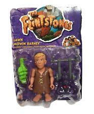 """The Flintstones Lawn Mowin """"Barney"""" 4.5""""IN  Action Figure 1993 MATTEL"""