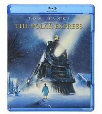 The Polar Express Blu-ray Disc 2007 Tom Hanks Michael Jeter Santa Claus New