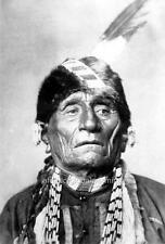 Photo ca 1899 Kansa Indian Chief Wa-Shung-A