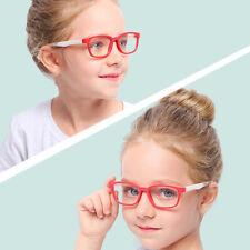 US Children Optical Safe Eyeglasses Plain Mirror Anti-blue Light Goggles Eyewear