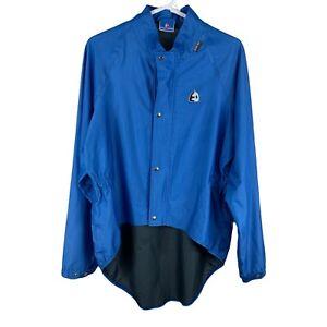 ETXEONDO GORE TEX Blue Black CYCLING JACKET FULL ZIP Men Size XXL