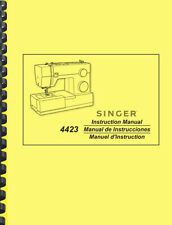 Singer 4423 Sewing Machine OWNER'S INSTRUCTION MANUAL