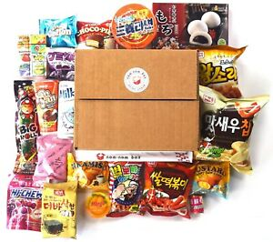 Asian Snack Box Hamper 20x- Includes Japanese, Korean, Chinese & More