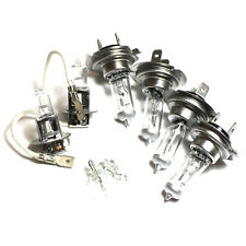 Peugeot 605 55w Clear Xenon HID High/Low/Fog/Side Headlight Bulbs Set