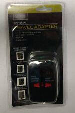 Living Solutions Universal Travel Adapter-Black