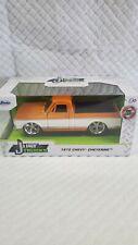 1972 Chevy Cheyenne Orange and White Just Trucks Diecast 1/32 1:32 Jada Toys New