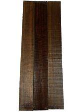 "3 Pack, Indian Laurel Guitar Fingerboard Blanks/Fretboards 21""x2-1/2""x3/8& #034;, #54"