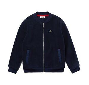 Lacoste SJ1324 Boys' Lacoste Badge Sherpa Fleece Teddy Jacket