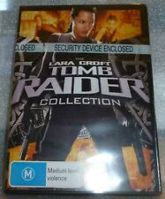 Tomb Raider Collection 2 DVD with Cradle of Life New Sealed Free Postage R4