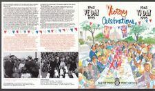 Isle of Man 1995 postfrisch Faltkarte Klb. MiNr. 629-636 Beendigung Weltkrieg