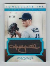 SHELBY MILLER 2014 Panini Immaculate AUTO #8/10 Blue Sapphire GOLD INK D-Backs