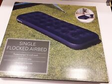 Single Flocked Airbed
