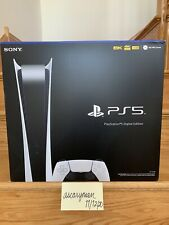 Sony Playstation 5  Ps5  Digital Edition