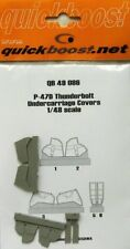 Quickboost 1/48  P-47D Thunderbolt Undercarriage Covers # 48086