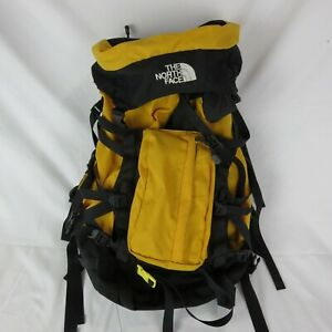"""The North Face Regular  Backpack Black Yellow 87569 23"""" 11"""" 9.5"""""""