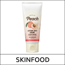 [SKIN FOOD] SKINFOOD Premium Peach Cotton Juicy Cream 60ml / Korea Cosmetic / L2