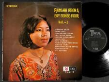 """Malaysia Ramlah Adon & Mega Rare Malay Band The Cat Combo Muar Vol.1 12"""" MLP507"""