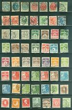 Denmark - Classic Collection #1 - 2 Pages (92 stamps)