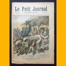 LE PETIT JOURNAL Supp. illustré LE BRIGANDAGE EN ITALIE 9 déc. 1893