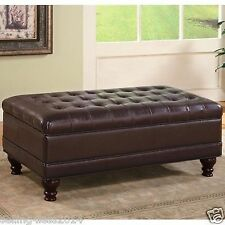 living room ottomans, footstools and poufs | ebay