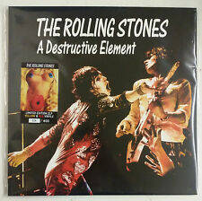 The Rolling Stones A Destructive Element 2-LP Birmingham 1973 vinilo a color