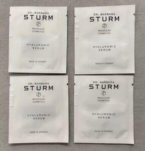 Dr. Barbara Sturm Hyaluronic Serum Samples Lot Of 4