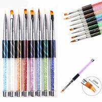UV Gel Liner Gradient Brush Nail Art Dotting Drawing Painting Pen Manicure Tools