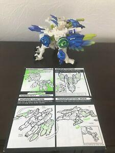 Transformers Beast Wars Transmetals 2 Tiger Hawk 1999 w/ 2 Projectiles