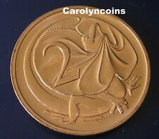 2 Cent Coin 1991 Frilled Neck Dragon Lizard Australian Money 2c UNC Elizabeth 2