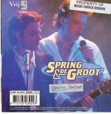 (BI144) Spring & De Groot, Vrij - 1998 CD