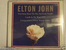 """ELTON JOHN """"SOMETHING ABOUT THE WAY.."""" CD SINGLE"""