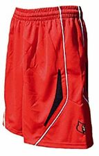 Louisville Cardinals Youth 8 College Red Screen Printed Replica Basketball Short
