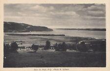 Vue sur la Baie BAIE ST-PAUL Quebec Canada 1930-40s A. Gilbert PECO Postcard