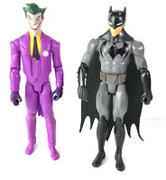 "Batman & The Joker 12"" Action Figure 2-Pack DC Comics Loose"