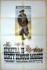 DIRTY DINGUS MAGEE 1 SH (1970) ONE SHEET POSTER FRANK SINATRA Western Comedy
