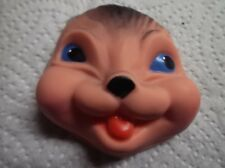 RUBBER SQUIRREL/ ANIMAL FACE FOR SOFT TOY MAKING