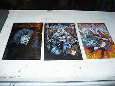 lady death comics 1994,1995