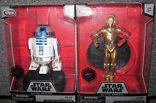 STAR WARS:THE FORCE AWAKENS**R2-D2 & C-3P0** DISNEY ELITE DIECAST FIGURES* NIB