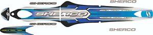 Sherco  2005 Trials Bike  standard Style  decal /sticker  set  .
