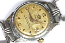 Rocar de luxe 17 jewels Swiss watch for parts/restore