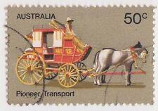(DA1060) 1972 AU 50c pioneer transport (N)