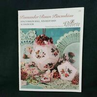 The Victoria Sampler Pomander Roses Pincushion Counted Cross Stitch Pattern 139