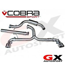 VW56 Cobra Sport VW Golf GT TDI MK6 5K 170PS 09-13 Cat Back System - Dual exit