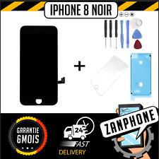 ÉCRAN LCD SUR CHASSIS + VITRE TACTILE IPHONE 8 NOIR LIVRAISON GRATUITE